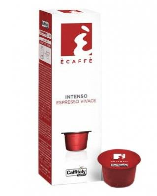 Капсулы Caffitaly Ecaffe Intenso 10 шт