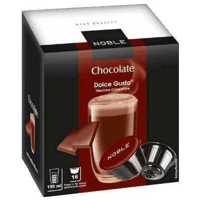 Капсулы Noble Dolce Gusto Chocolate, Шоколад 16 шт