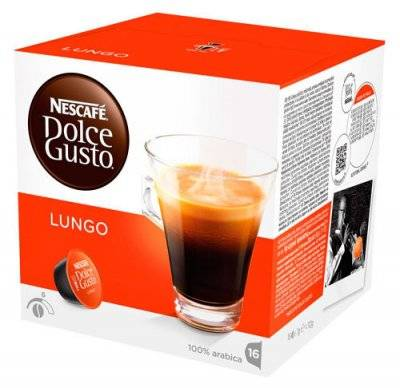 Капсулы Nescafe Dolce Gusto Lungo 16 шт