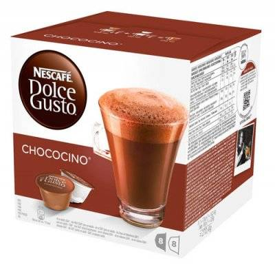 Капсулы Nescafe Dolce Gusto Chococino 8+8 шт