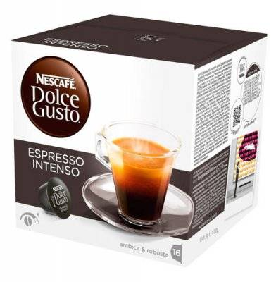 Капсулы Nescafe Dolce Gusto Espresso Intenso 16 шт