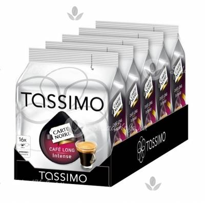 Tassimo Carte Noire Cafe Long Intense, Тассимо Карт Нуар Лонг Интенс 5 упак