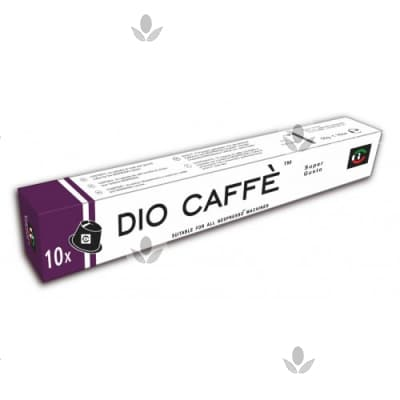 Капсулы Dio Caffe Super Gusto 10 шт