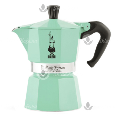 Кофеварка Bialetti Moka Express Collection Ice 3 порции (120 мл)