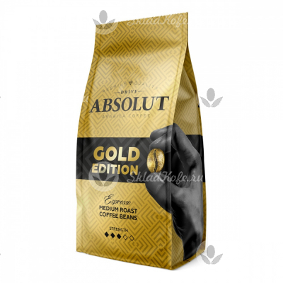 Кофе в зернах Absolut Drive Gold Edition