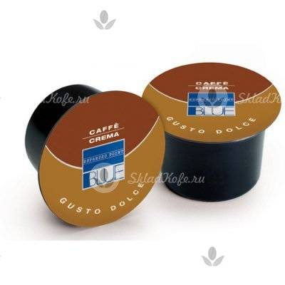 Капсулы Lavazza Blue Caffe Crema Dolce 100 шт