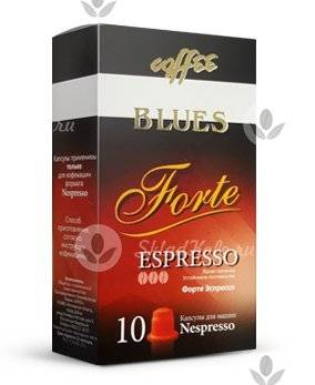 Капсулы Coffee Blues Forte 10 шт