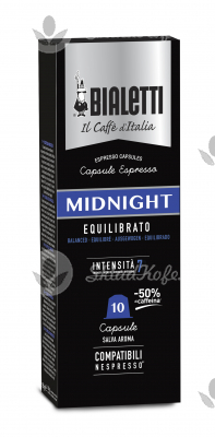 Кофе в капсулах Bialetti MIDNIGHT 10 шт