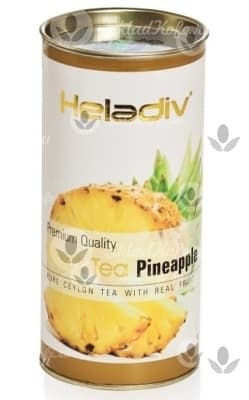 Чай HELADIV PINEAPPLE, ананас - круглая туба 100 гр
