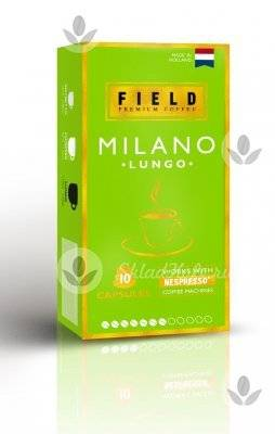 Капсулы Field Lungo Milano 10 шт