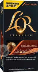 Капсулы L'OR Espresso COLOMBIA ANDES, алюминиевые 10 шт