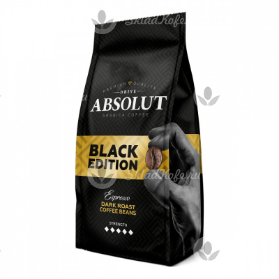 Кофе в зернах Absolut Drive Black Edition