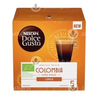 Капсулы Nescafe Dolce Gusto Colombia 12 шт