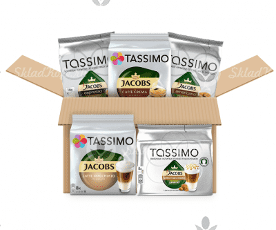 Капсулы Tassimo Set Coffee + Latte 64 шт